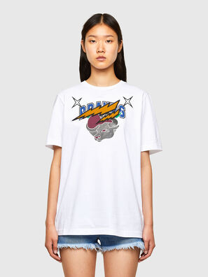 CL-T-JUST-O1, White - T-Shirts