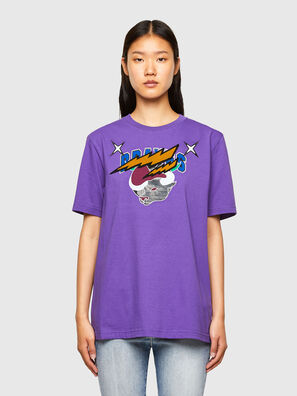 CL-T-JUST-O1, Violet - T-Shirts