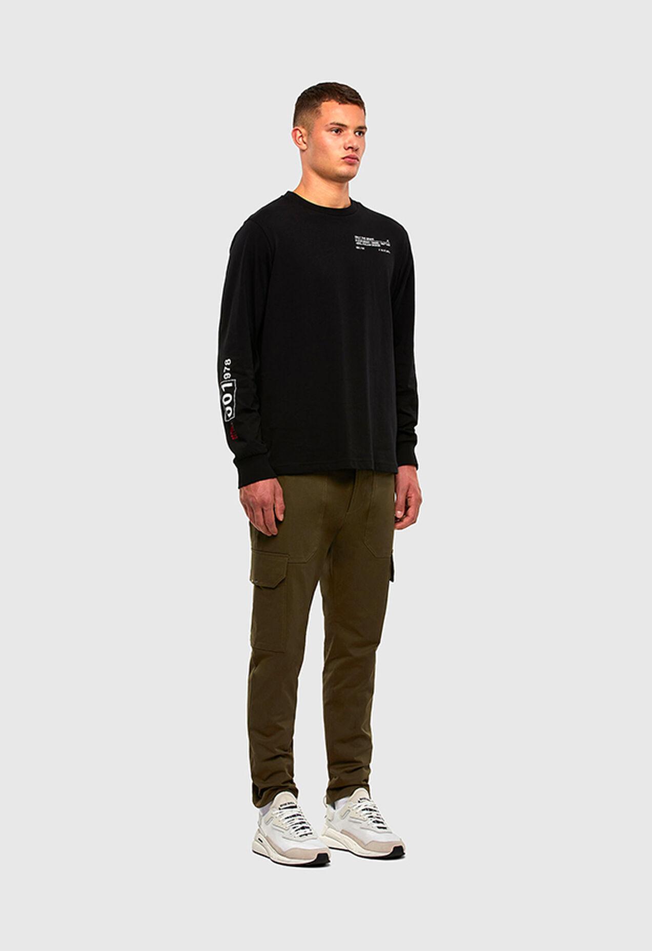 P-BAKER-SLIM, Military Green - Pants