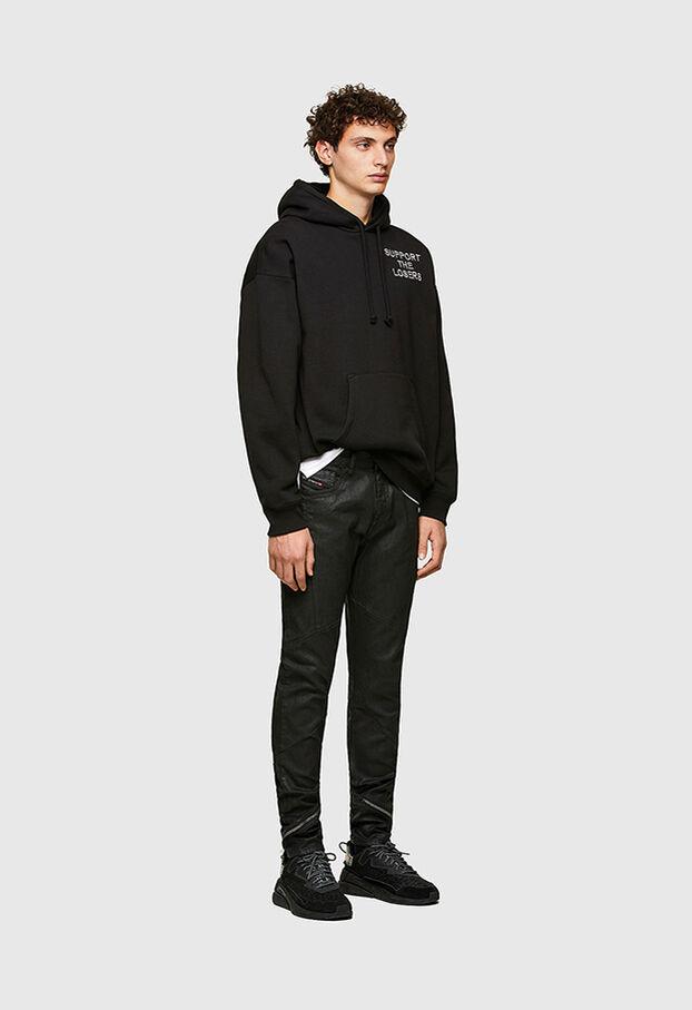 D-Strukt 069TK, Black/Dark grey - Jeans