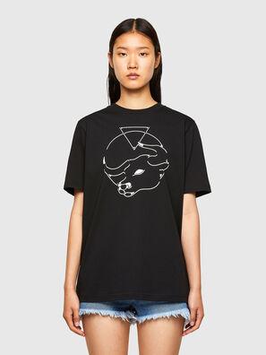 CL-T-JUST-O, Black - T-Shirts