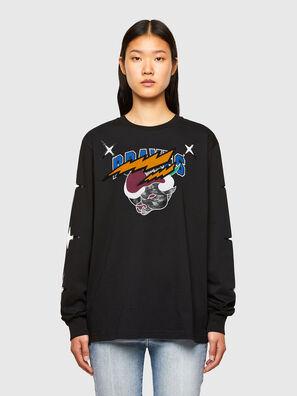 CL-T-JUST-LS-O, Black - T-Shirts