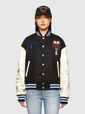 CL-L-COHEN-O, Black - Leather jackets