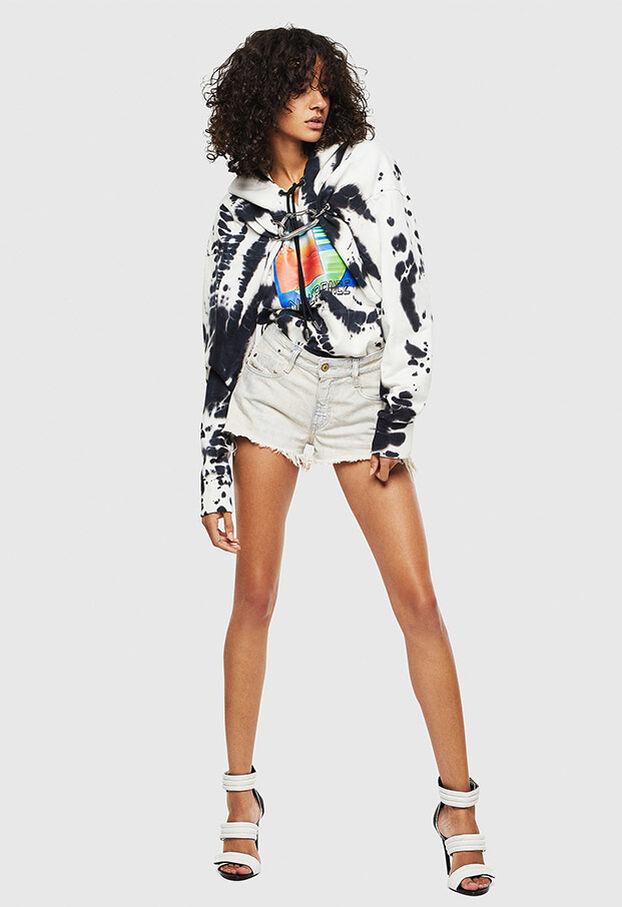 F-ALBYHOOK-E, White/Black - Sweaters