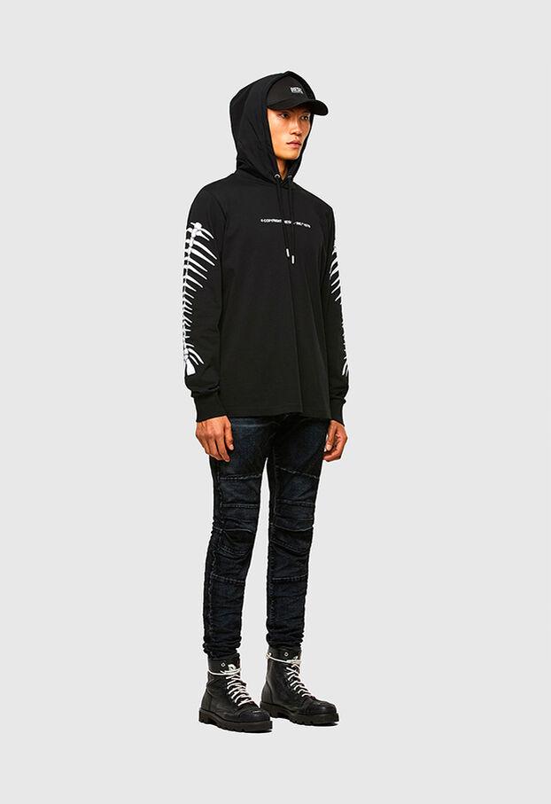 D-Strukt JoggJeans® 069TG, Black/Dark grey - Jeans