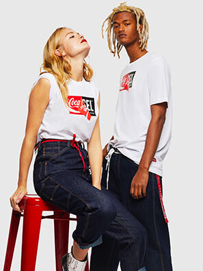 CC-T-JUST-COLA, White - T-Shirts