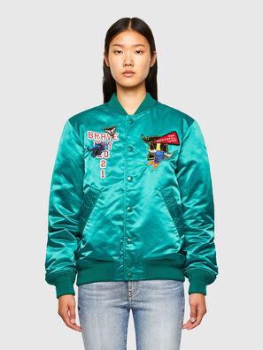 CL-J-ROSS-REV-O, Water Green - Jackets