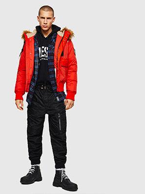 W-BURKISK, Orange - Winter Jackets