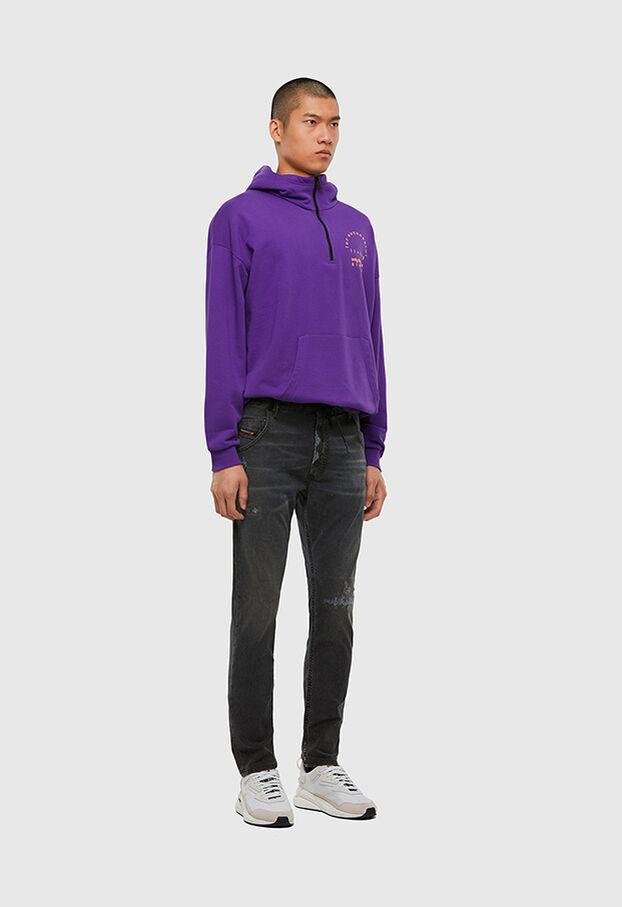 KROOLEY JoggJeans® 009LB, Black/Dark grey - Jeans