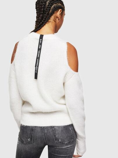 Diesel - M-LARA, White - Knitwear - Image 2
