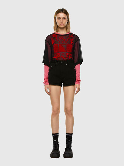 Diesel - T-LAYER, Pink - Tops - Image 5