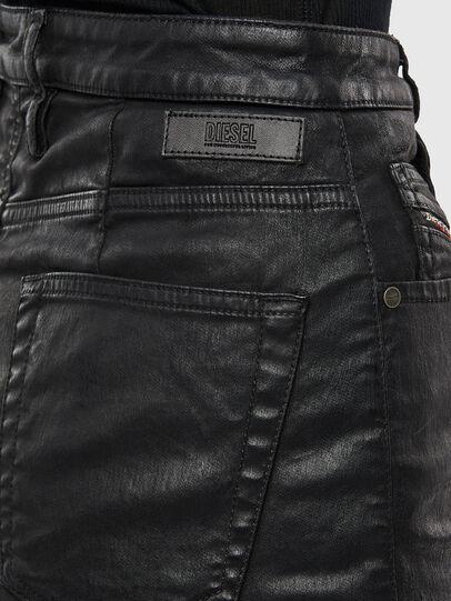 Diesel - D-ELBEE JOGGJEANS, Black - Skirts - Image 5