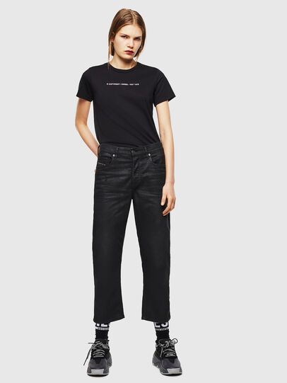 Diesel - T-SILY-COPY, Black - T-Shirts - Image 4