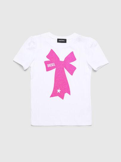 Diesel - TASHAB-R, White - T-shirts and Tops - Image 1
