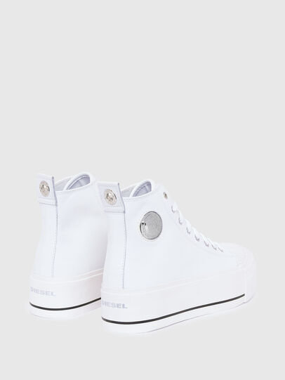 Diesel - S-ASTICO MC WEDGE, White - Sneakers - Image 3