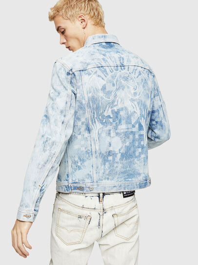 Diesel - NHILL, Light Blue - Denim Jackets - Image 2