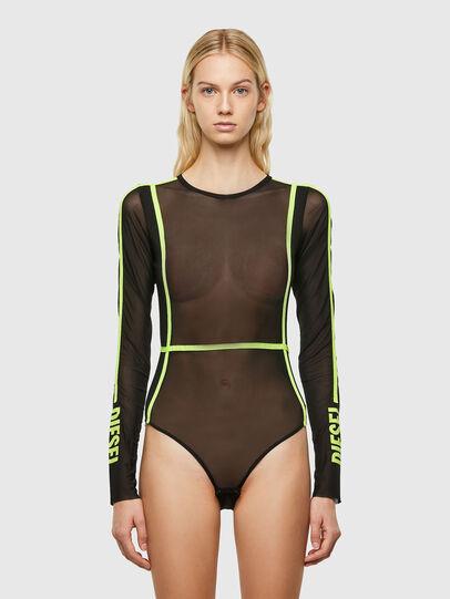 Diesel - UFBY-VALERIETTE-M, Black - Bodysuits - Image 1