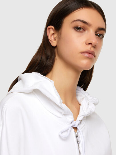 Diesel - F-BILLY-LOGO, White - Sweaters - Image 3