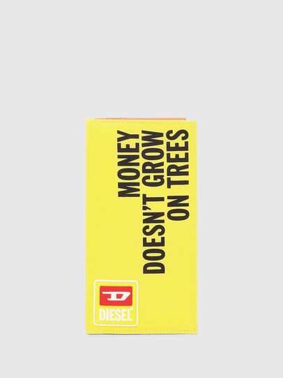 Diesel - TRAVELLET, Yellow - Continental Wallets - Image 1