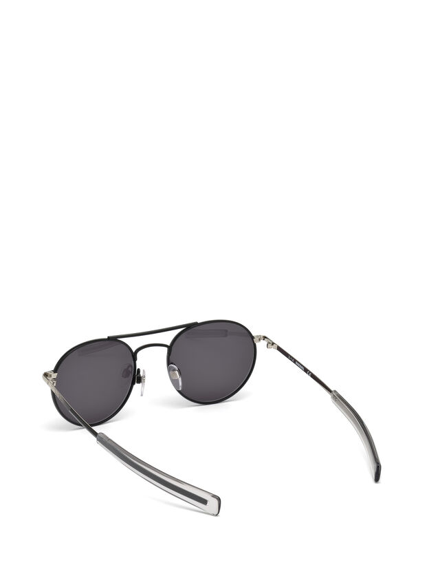 Diesel - DL0220, Black - Sunglasses - Image 2