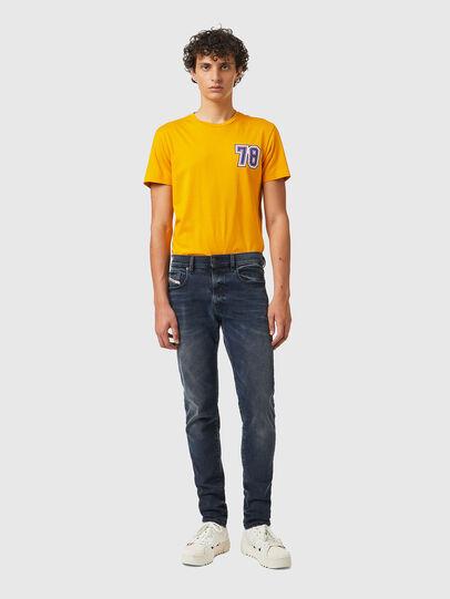 Diesel - D-Strukt 09B25, Dark Blue - Jeans - Image 5