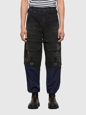 D-MULTY-SP, Black/Blue - Jeans