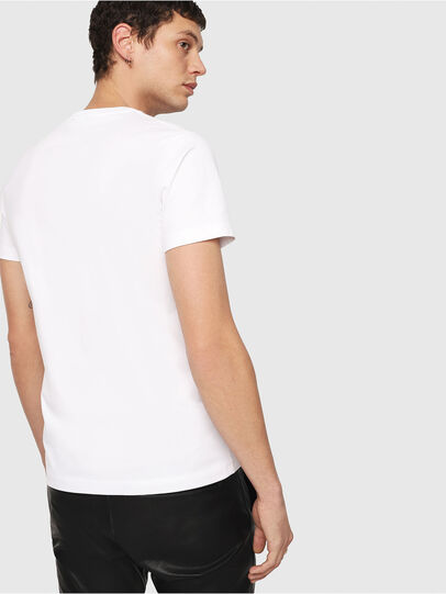 Diesel - T-DIEGO-QA, White - T-Shirts - Image 2