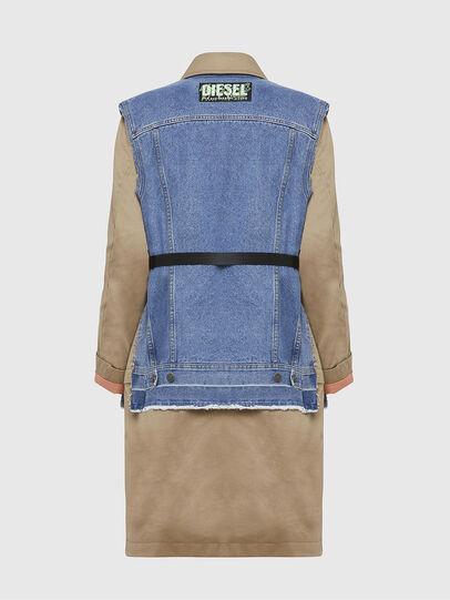 Diesel - W-CHARIE, Beige/Blue - Winter Jackets - Image 2