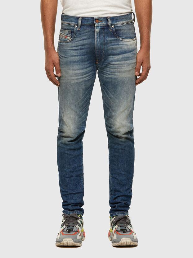 D-Strukt 009HH, Medium blue - Jeans
