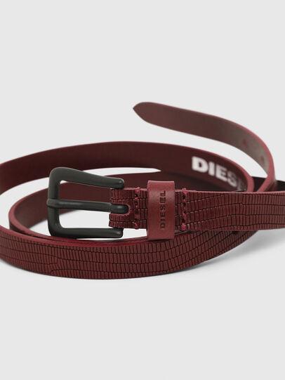 Diesel - B-MONO, Bordeaux - Belts - Image 2