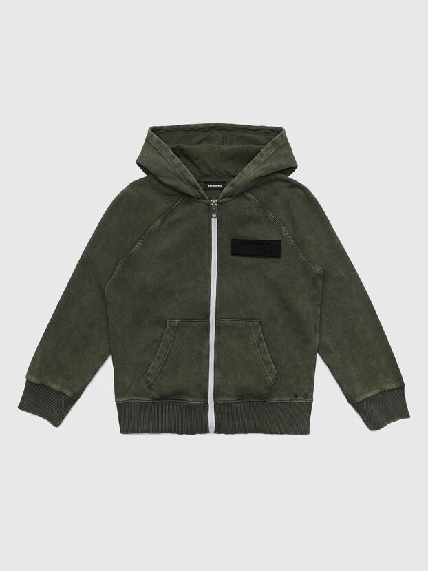 SGIMHOODZIP, Military Green - Sweaters