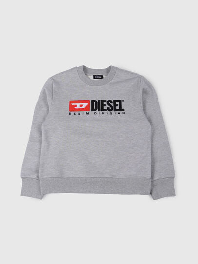 Diesel - SCREWDIVISION OVER, Grey - Sweaters - Image 1