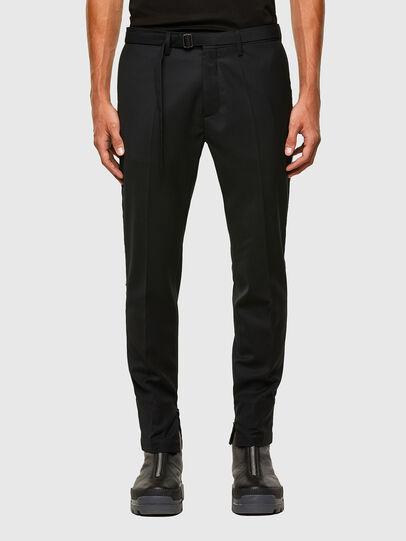 Diesel - P-SCOTT, Black - Pants - Image 1