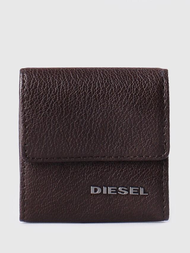 Diesel KOPPER, Dark Brown - Small Wallets - Image 1