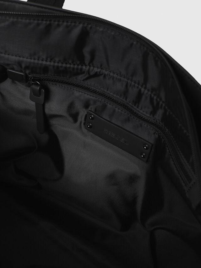 Diesel - F-BOLD SHOPPER II, Black - Shopping and Shoulder Bags - Image 5