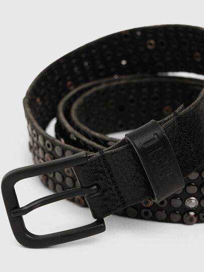 Diesel - B-GIO II, Black - Belts - Image 2