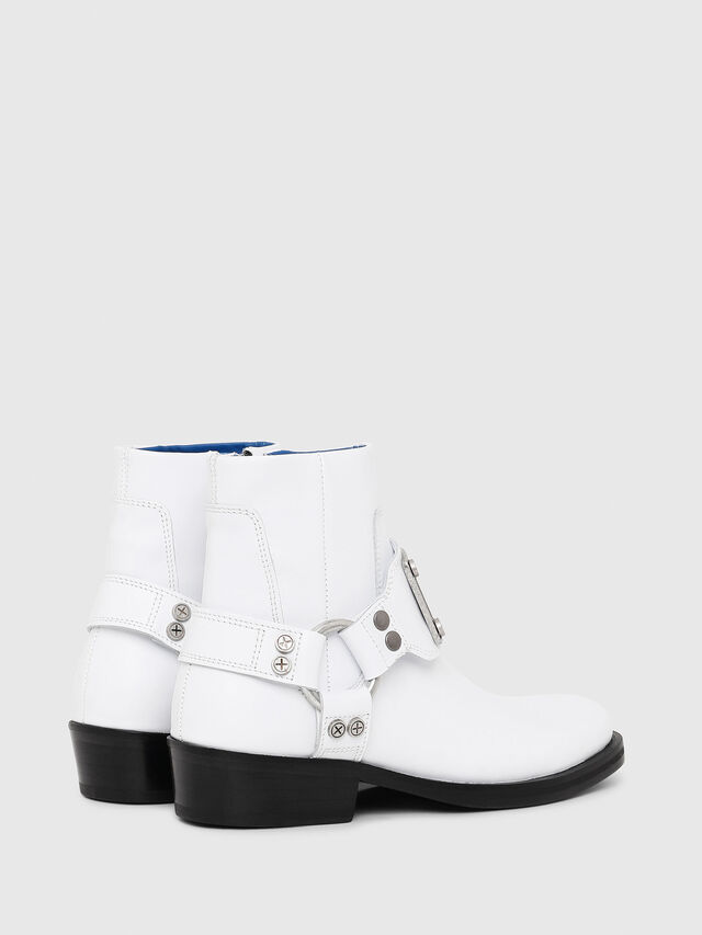Diesel - D-BIOYS MC, White - Boots - Image 6