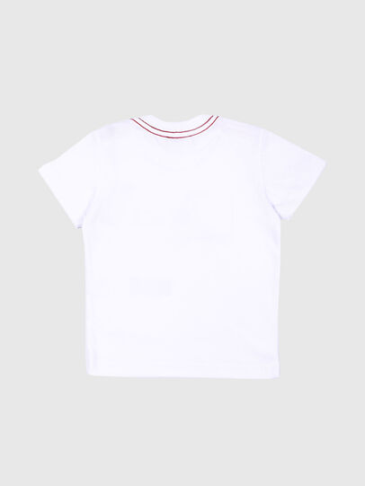 Diesel - TOQUEB MC, White - T-shirts and Tops - Image 2
