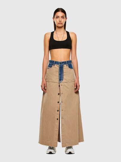 Diesel - O-MISTY, Beige - Skirts - Image 5