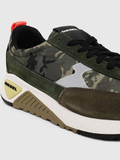 Diesel - S-KB LOW LACE II, Green Camouflage - Sneakers - Image 4