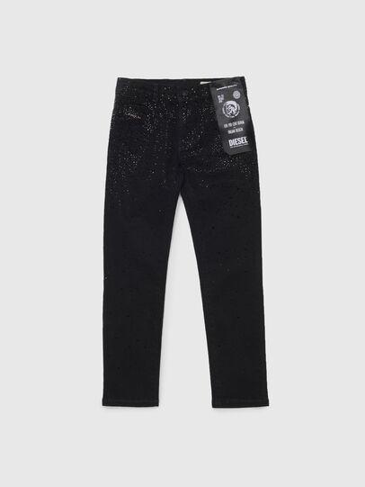 Diesel - BABHILA-J, Black/Dark grey - Jeans - Image 1
