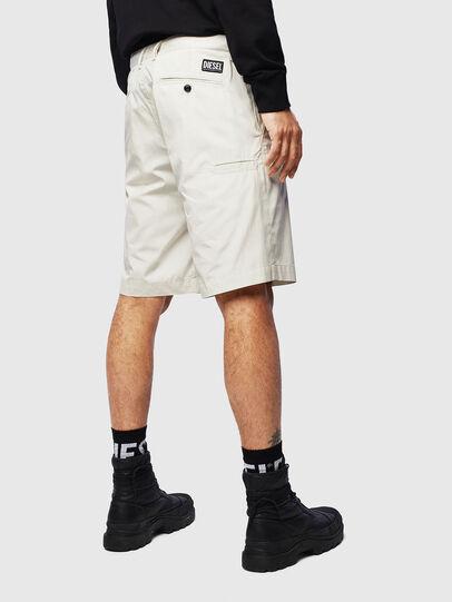 Diesel - P-MATTHEW, White - Shorts - Image 2