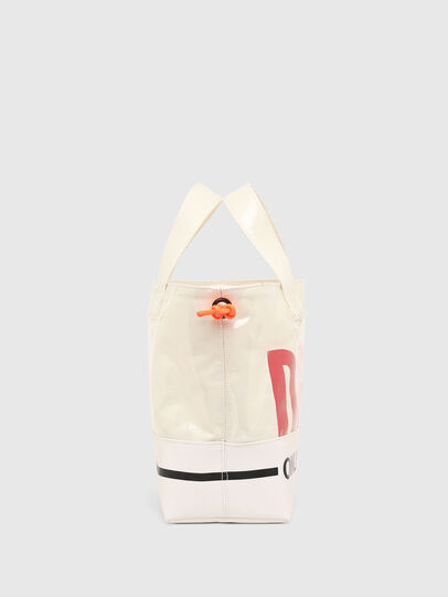 Diesel - ASTI, White - Shopping and Shoulder Bags - Image 3