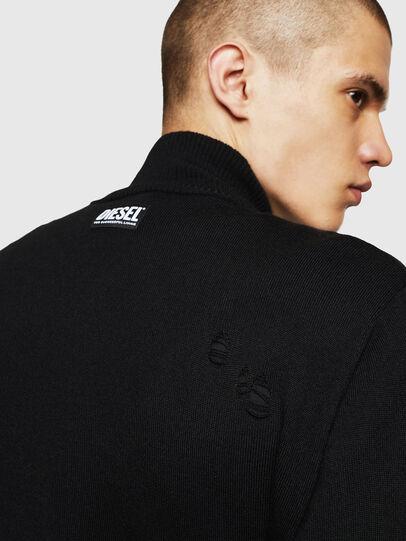 Diesel - K-ECLY, Black - Knitwear - Image 4