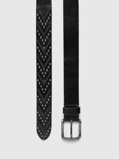 Diesel - B-STUDEND, Black - Belts - Image 3