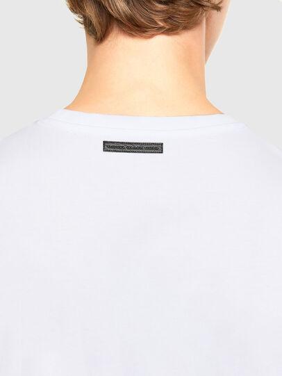 Diesel - T-INO, White - T-Shirts - Image 4