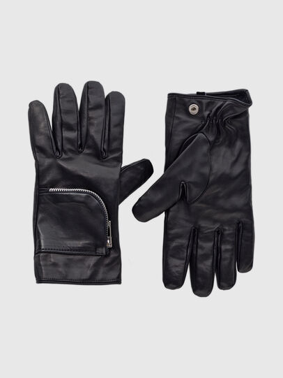 Diesel - GIRAGE, Black - Gloves - Image 1