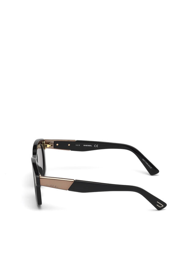 Diesel DL0226, Black - Eyewear - Image 4