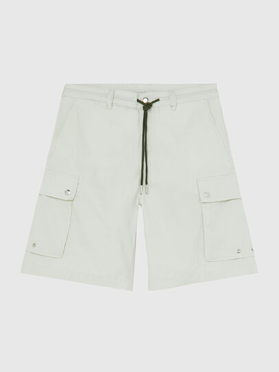 Diesel - P-AIMI-P, White - Shorts - Image 1