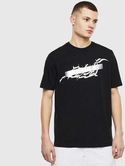 Diesel - T-JUST-T11, Black - T-Shirts - Image 1